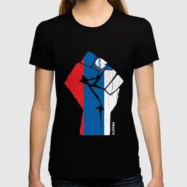 Team Slovenia Flag Tshirt T-shirt