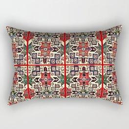 Armenian Folk Art Rectangular Pillow