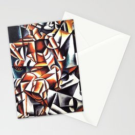 Lyubov Popova - Air Man Space Stationery Cards