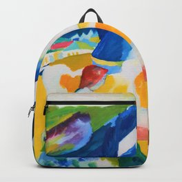 Wassily Kandinsky - The Cow - Digital Remastered Edition Backpack