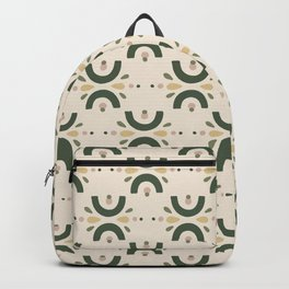Beautiful Landscapes Scenery elements Pattern Backpack