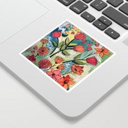 Floral Rhythm Sticker