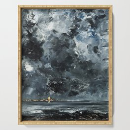 August Strindberg - The Town Serving Tray
