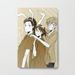 Kida Masaomi - DRRR Metal Print
