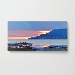 Sunrise in Tourelle Metal Print