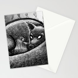 Full Moon Nuzzle Stationery Cards