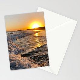 Sea Sunset Sunrise Stationery Cards