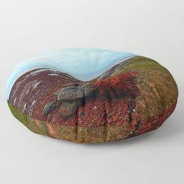 PEI Shoreline in Point Prim Floor Pillow