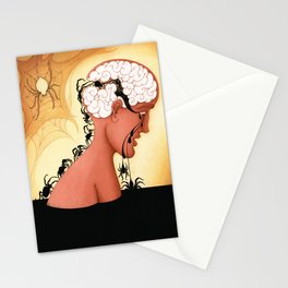 The Brain Mechanics of Repetitive Thinking Stationery Cards