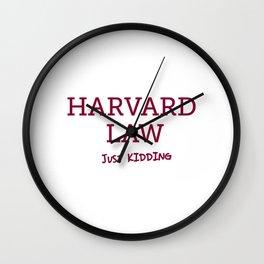 Harvard Law Wall Clock