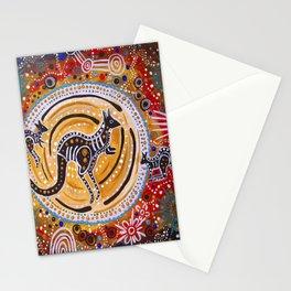 BORA THE KANGAROO  5 Stationery Cards