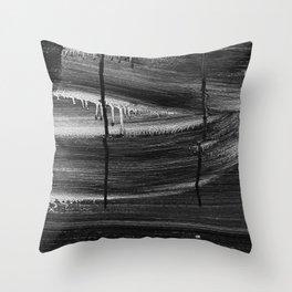 Emotional Streaks Throw Pillow