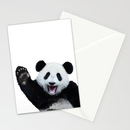 Panda Art Print Stationery Cards