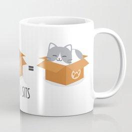 If It Fits, I Sits! Coffee Mug