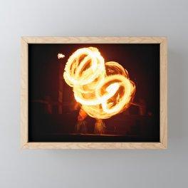 Fire Dancer 1 Framed Mini Art Print