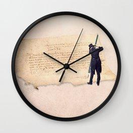 The signer Wall Clock