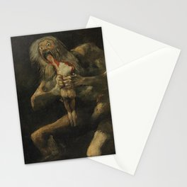 Saturn Devouring His Son - Goya Stationery Cards