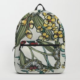 Australian Native Floral Backpack