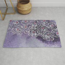 Art-ichoke in purple Rug