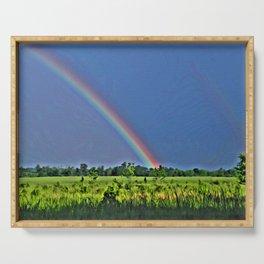 Rainbow Dreams Serving Tray