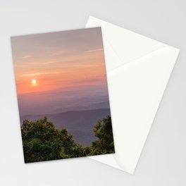 Majestic Sunset At Humpback Rocks Stationery Cards
