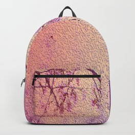 Sakura garden purple theme Backpack