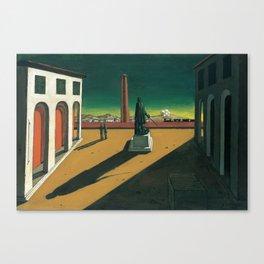 Giorgio de Chirico - The Square [1913] Canvas Print