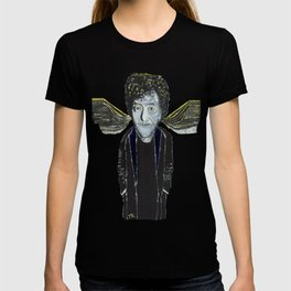 Kurt Vonnegut Jr Oil Painting by Tony King  T-shirt
