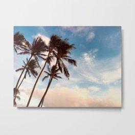 Kauai Palm Metal Print