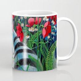 Cat in the Night Coffee Mug