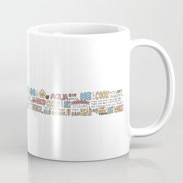 Aqua cat_Puno Coffee Mug