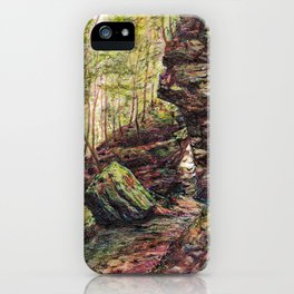 Triangle Rocks iPhone Case