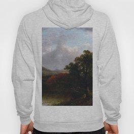 Passing Storm Clouds 1869 By David Johnson | Reproduction | Romanticism Landscape Painter Hoody
