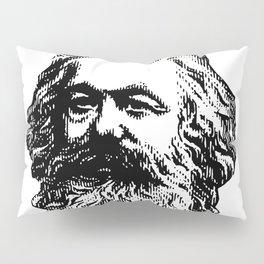 KARL MARX // HALFTONE Pillow Sham