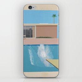 A Bigger Splash - David Hockney, 1967 iPhone Skin