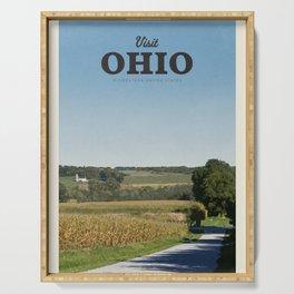Visit Ohio Serving Tray