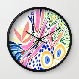 Moi roi Wall Clock