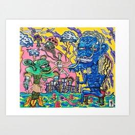 An Alternative Trip Art Print