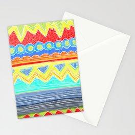 Sunrise Geometrics Stationery Cards