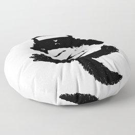 Bad Kitty Floor Pillow