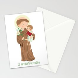 St. Anthony of Padua Stationery Cards