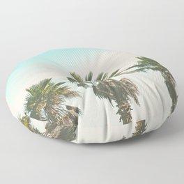 3 Retro Palms Floor Pillow