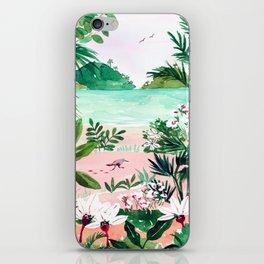 Seaside Meadow iPhone Skin