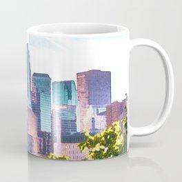 Minneapolis Minnesota Skyline Painted Style Coffee Mug