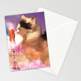 The Oreo Cat: I dream of bacons Stationery Cards