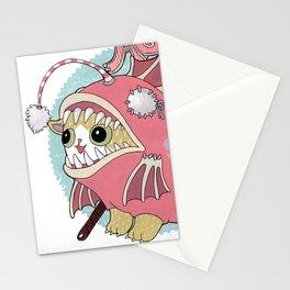 Aqua cat_Muka Stationery Cards