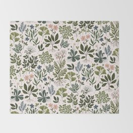 Herbarium ~ vintage inspired botanical art print ~ white Decke