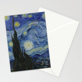 Vincent Van Gogh - Starry Night Stationery Cards