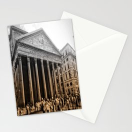Agrippa built the Pantheon Stationery Cards