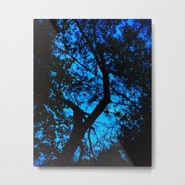 Blue Tree, 2019 from MyMargins Metal Print